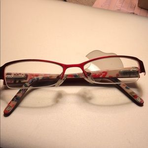 Nine West Red and Floral glasses / Frames